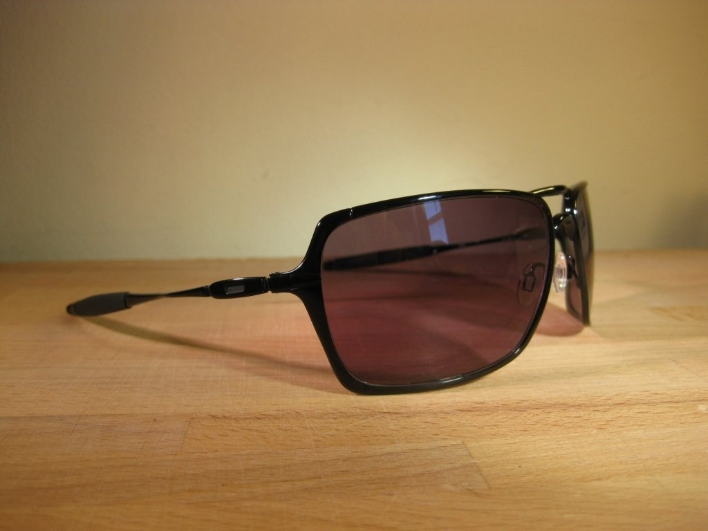 Oakley Inmates Polished Black/ Warm Grey