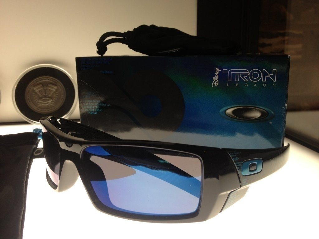 My 3D Tron edition Gascan with the lenses replaced with Ice.