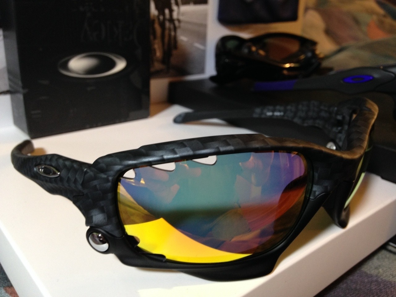 Echelon Jawbones.<br /> The Ruby VR50 Photochromic lenses are for sale. Brand new. Only used for...