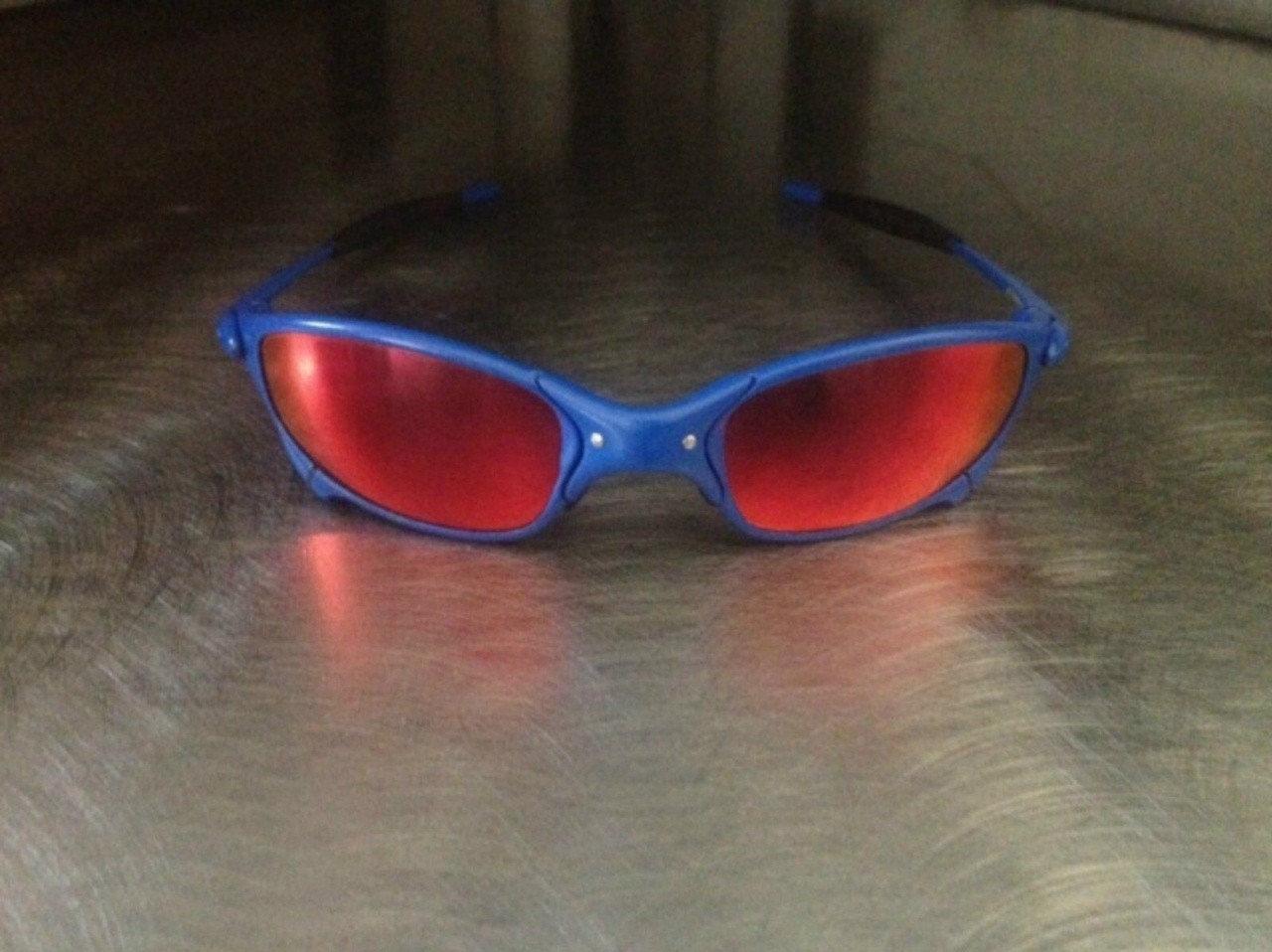 1st gen plasma serial number P027753 with deep red, custom cobalt blue finish