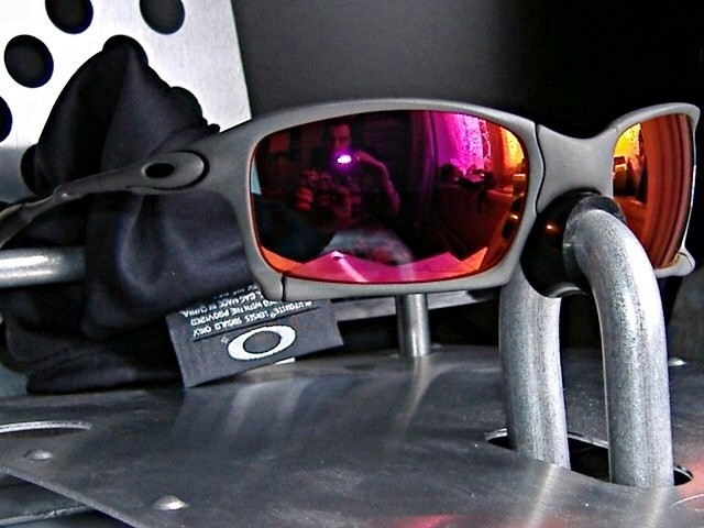 Oakley XS X-Metal/Ruby Iridium.