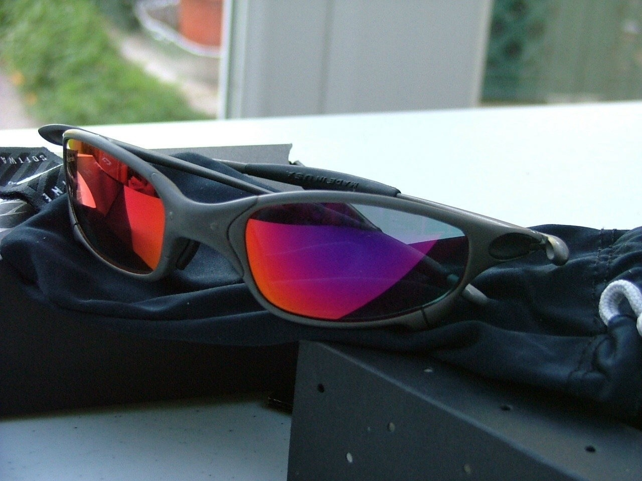 Oakley Juliet X-Metal/Ruby    X023226. My second pair of X serial Juliets.......the first pair I...