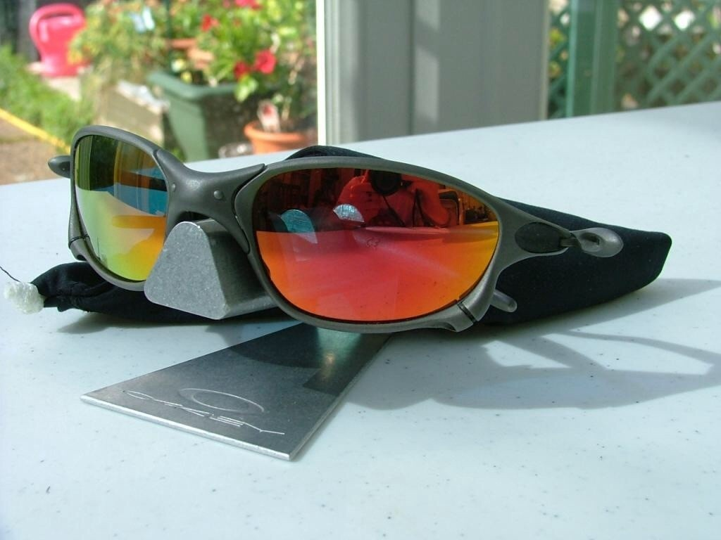 Oakley XX X-Metal/Replacement Fire lenses.