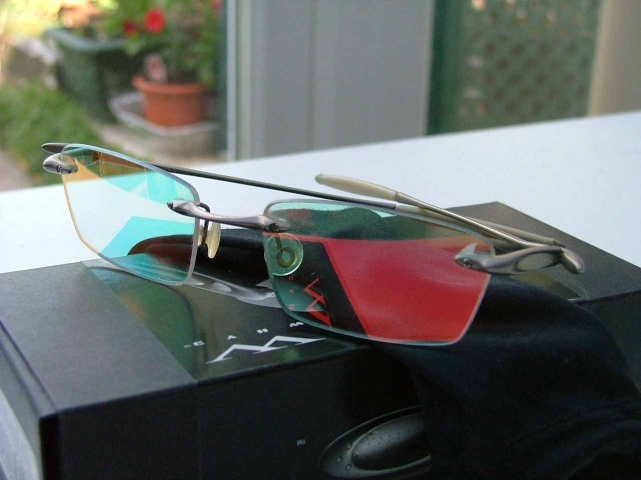 Oakley W.H.Y. 3.0  Chrome/Ruby Clear Iridium.