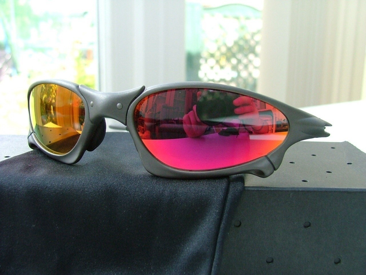 Oakley Penny X-Metal/ Ruby Iridium. XM 003914. By chance, I got these lenses from eBay for a...