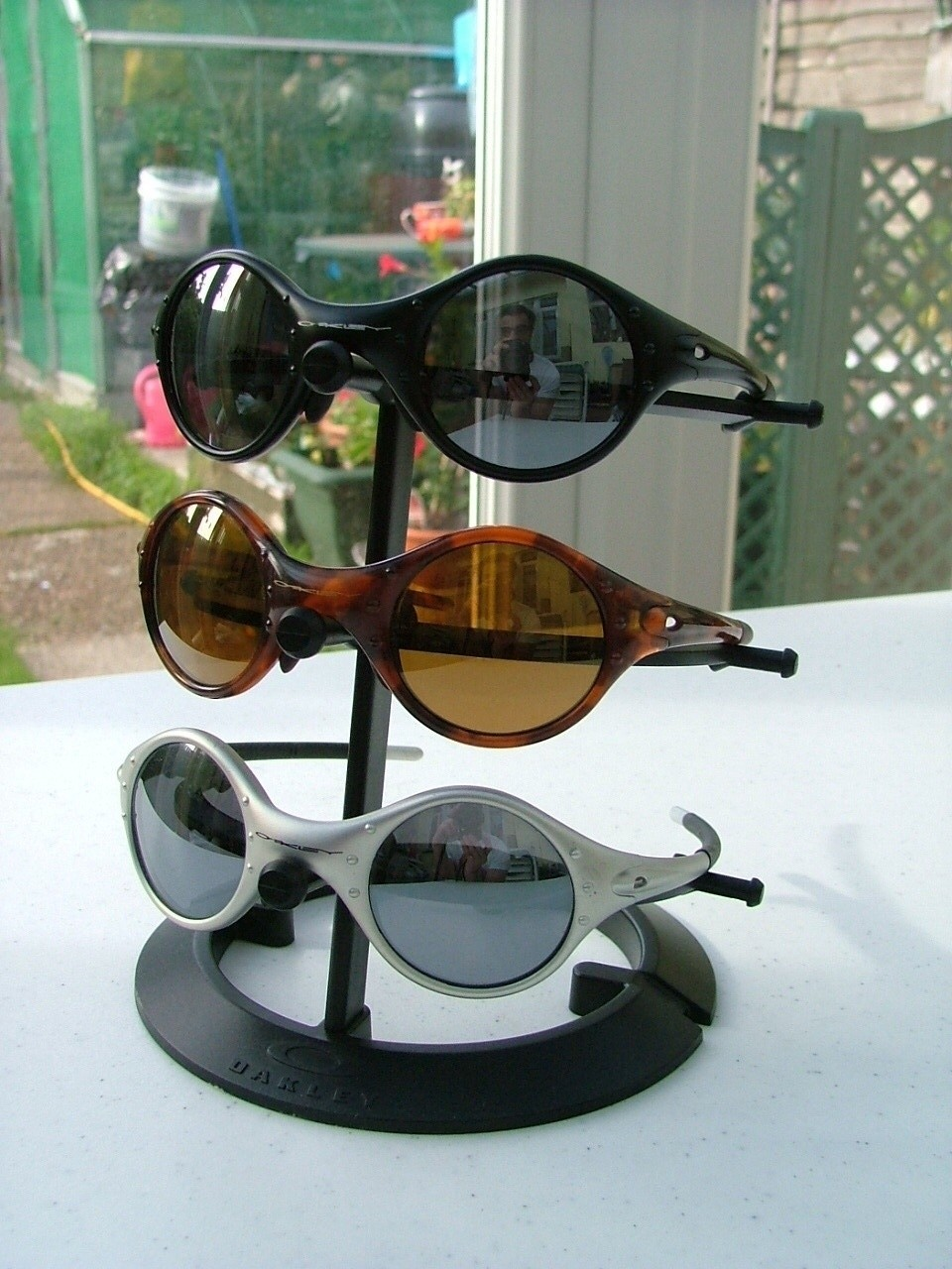 My Oakley Moon collection.