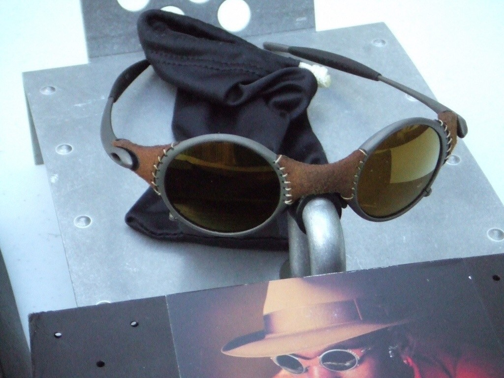 My Oakley Michael Jordan Leather Mars X-Metal /Gold Iridium