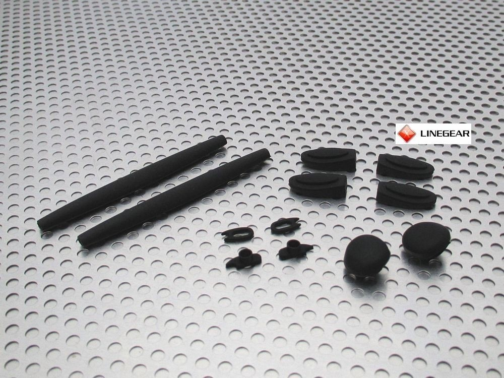 Romeo 1 replacement Rubbers Set - Black