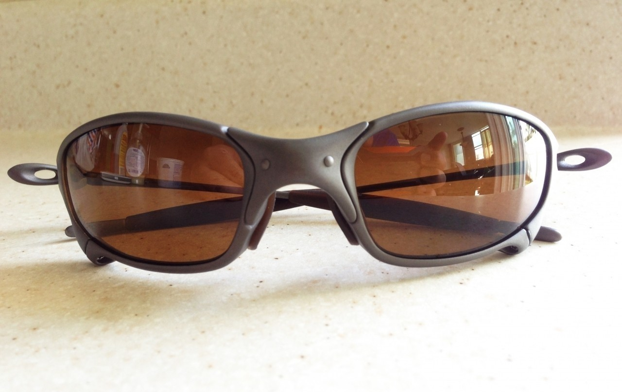 OAKLEY JULIET / X-METAL - DARK BRONZE LENS - Front View