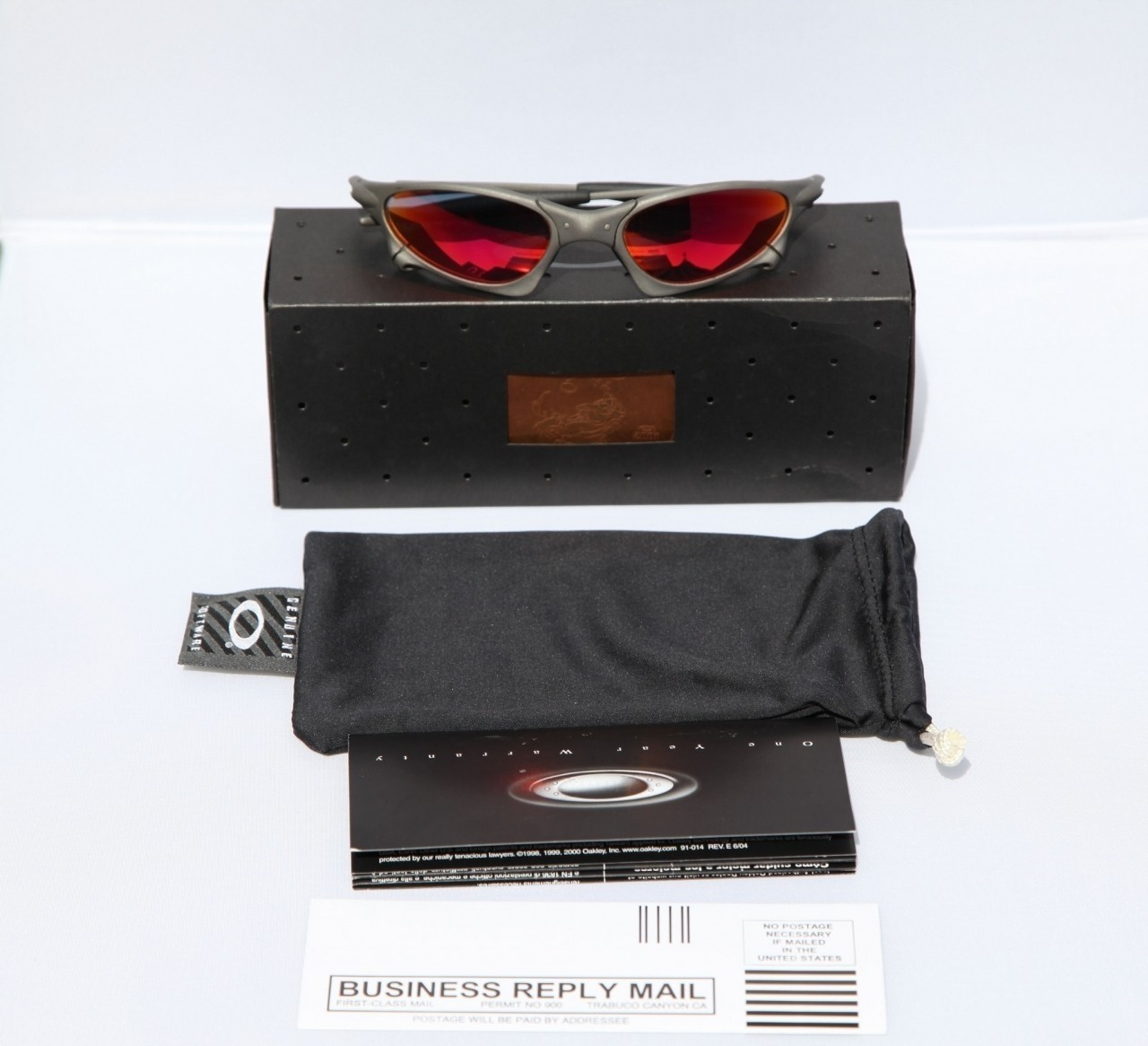 I sold these X-Metal penny ruby and regretted it ever since. They had the reddest lens I have...