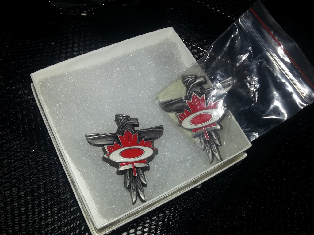 Canadian Winter Olympic pins