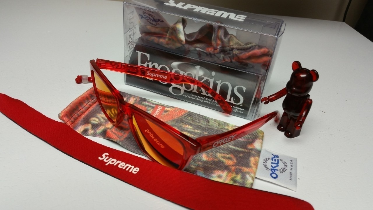 Supreme Crystal Red