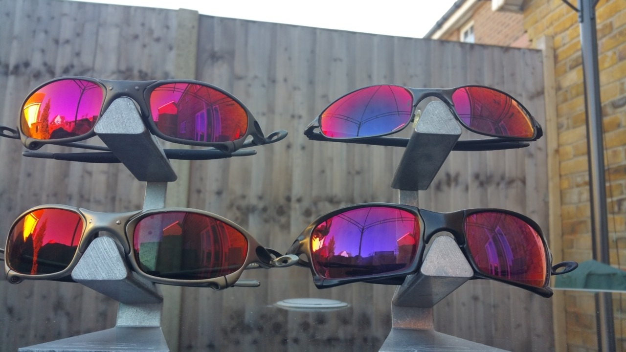 Top Left: Linegear Premium Red<br /> Bottom Left: Ikon +Red<br /> Top Right: Oakley +Red<br />...