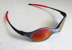 OAKLEY MARS / X-METAL - RUBY POLARIZED LENSES