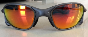 OAKLEY X-METAL XX / X-METAL - RUBY LENSES - Front View