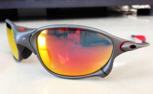 OAKLEY X-METAL XX / X-METAL - RUBY LENSES - Front/Right View