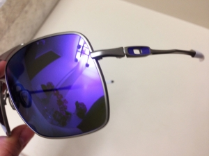 OAKLEY DEVIATION / LIGHT - VIOLET IRIDIUM LENSES
