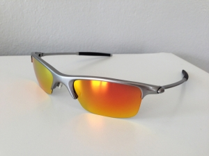 OAKLEY RAZRWIRE / MERCURY - FIRE / LIGHT GREY IRIDIUM LENSES