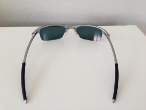 OAKLEY RAZRWIRE / MERCURY - FIRE / LIGHT GREY IRIDIUM LENSES - Rear View