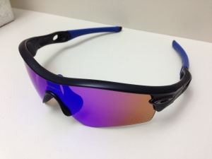 OAKLEY RADAR PATH / MATTE BLACK - BLUE IRIDIUM LENS