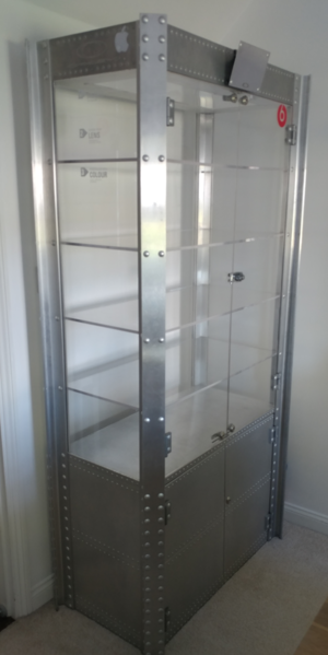 Oakley double door display case for sale free del London Birmingham area