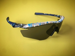 Grey Splatter M2 Frame with Grey Lens
