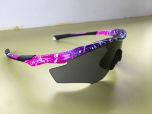 Pink/Purple Splatter M2 Frame