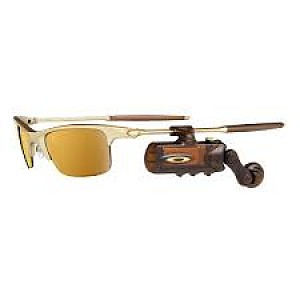 58d3a74a5c Oakley RAZRWire Platinum with Rootbeer Gold Iridium