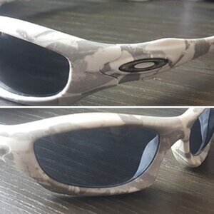 Oakley Monster Dog White Camo