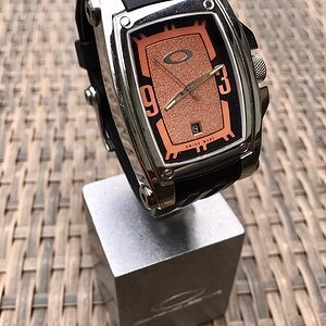 Warrant Stainless Steel Polished / Black-Copper